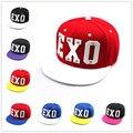 Новый EXO хип-хоп крышка Акриловый материал уличный танец Солнце бейсболка груза воздушной почты