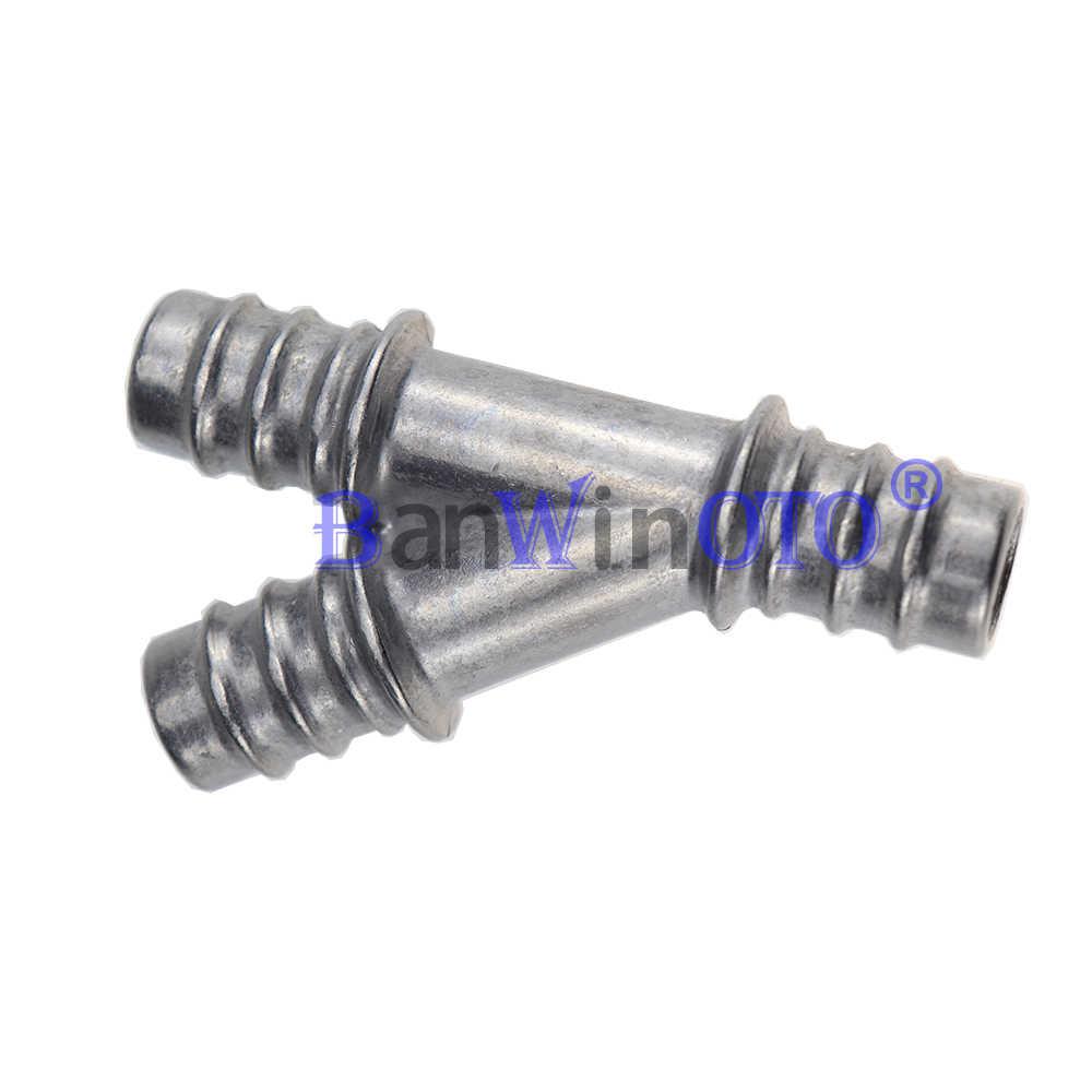 Aluminum Return Heater Y Type Hose Splicer Connector Pipe Tube