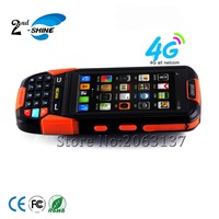 Rugged Industrial Android Mobile Phone Portable 1d barcode scanner with wifi/GPS/BT/4G netcom