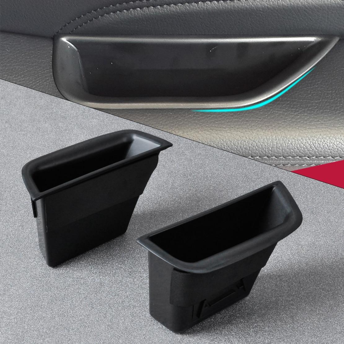 DWCX 2x Автомобильная задняя дверь подлокотник коробка для хранения Контейнер держатель для телефона для Mercedes Benz C-Class W204 2008 2009 2010 2011 2012 2013