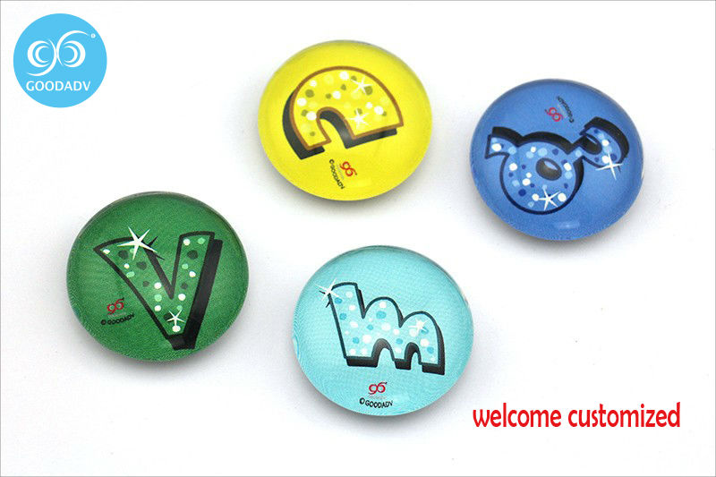 3.5 см детские развивающие и обучающие игрушки буквы Английского алфавита стекла магниты на холодильник индивидуальные логотип магнитная н...