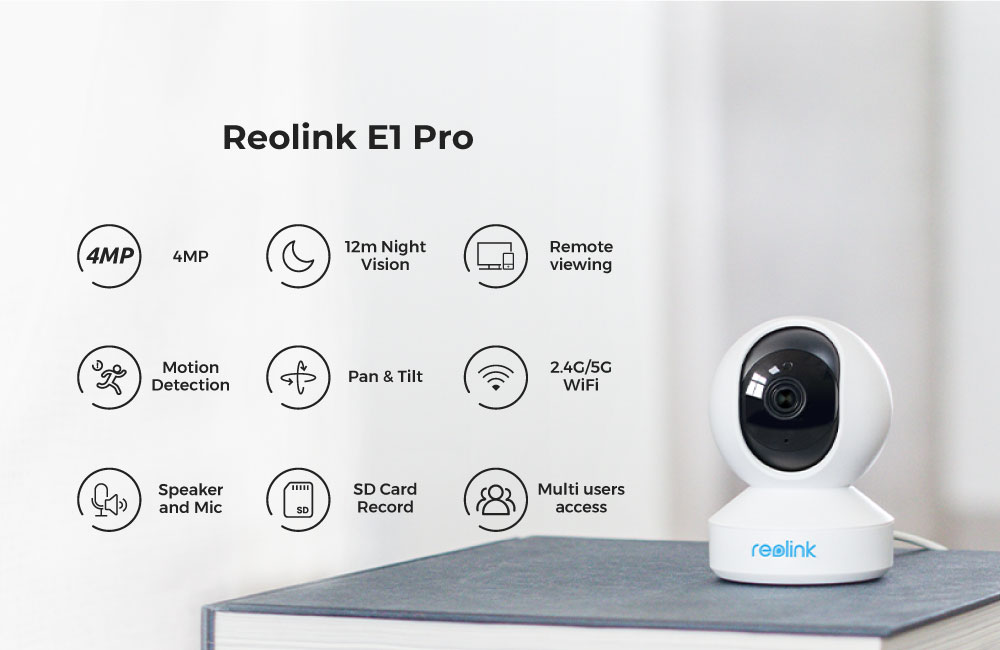 4MP home security ip camera