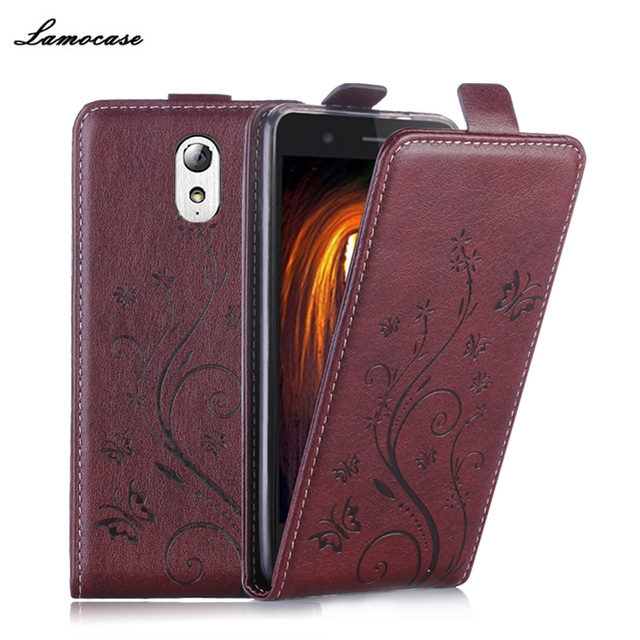 Leather Case For Lenovo P1M Flip Cover Case For Lenovo Vibe P1M P1MA40 P1MA50 Phone Covers Classical Embossing Phone Bags & Case
