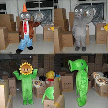 Pea Shooter Mascot Costume Fancy Dress Custom Cosplay Theme Mascotte Carnival  Costumes Adults Plant Vs Zombies
