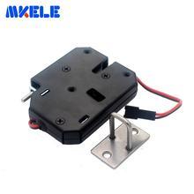 12В небольшой электромагнитный замок для дверей ящик шкафа магнитный