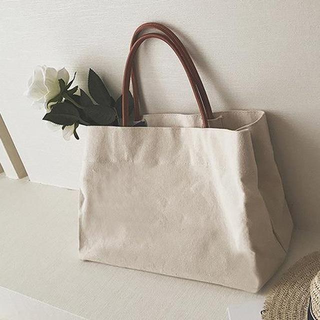 Canvas Totes Beach Bag Shoulder Bag