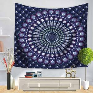 Image 4 - Indian Elephant Wall Hanging Tapestry Mandala Floral Carpet Chic Bohemia Decoration Kids Room Beach Towel Tribe Style Decor