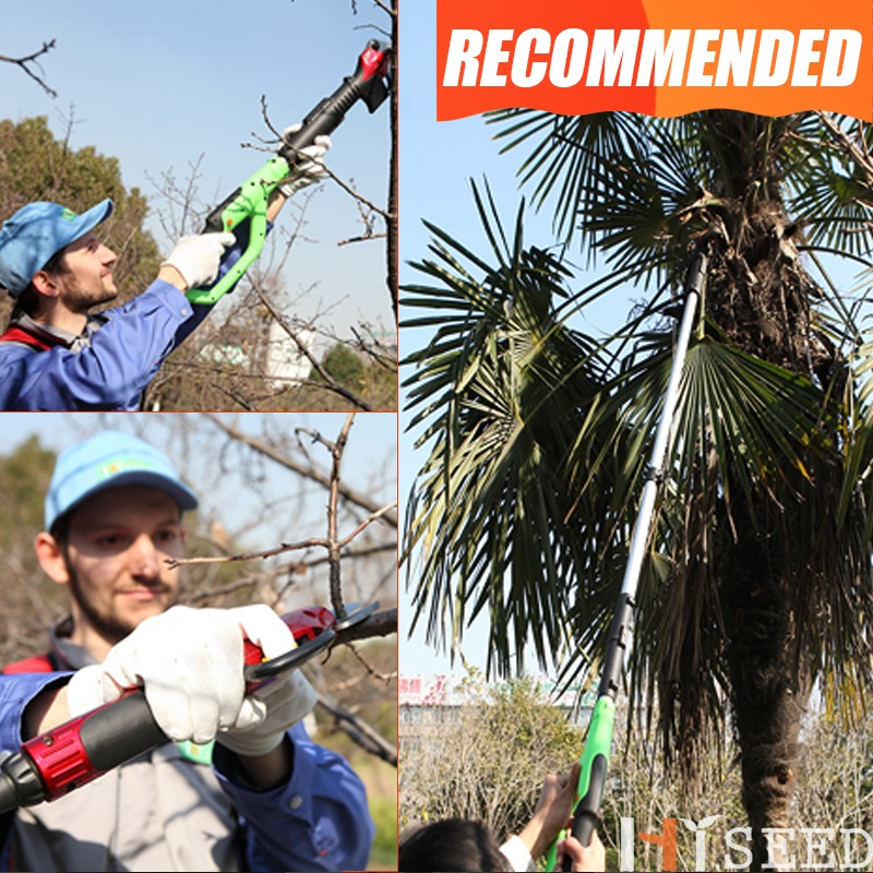 New Pruner Shears Electric Tree Shears Rechargeable Branch Fruit Pruning Telescopic Thick Tree
