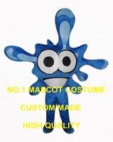 טיפת מים קריקטורה גודל מבוגרים תחפושת קמע טיפת מים הכחולה תלבושות cosplay אנימה קרנבל פנסי dress ערכות נושא 2621