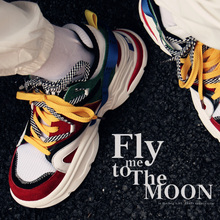 Men's hip hop dancing Shoes Sneakers Men Trainers Lace-up thick bottom Shoes High Top Sneakers Zapatos De Hombre