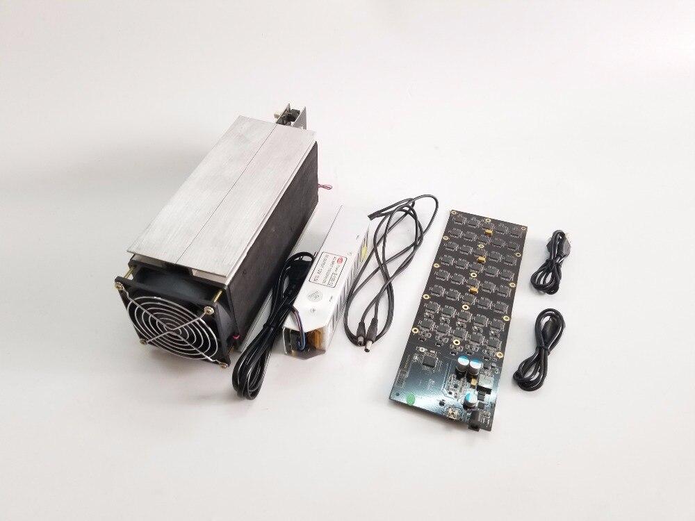 Бесплатная доставка б/у Gridseed MINER 5,2-6MH/S 100 Вт (с БП) Scrypt Майнер LTC горная машина gridseed blade доставка DHL EMS