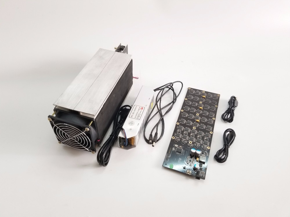 Free shipping USED Gridseed MINER 5.2-6MH/S 100W (with psu ) Scrypt Miner LTC mining machine gridseed blade ship by DHL OR EMS