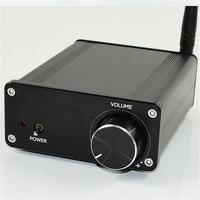 Mini ISSC Bluetooth RCA TDA7498 DC20V DC32V 100W+100W 2.0 hifi digital audio class D amplifier