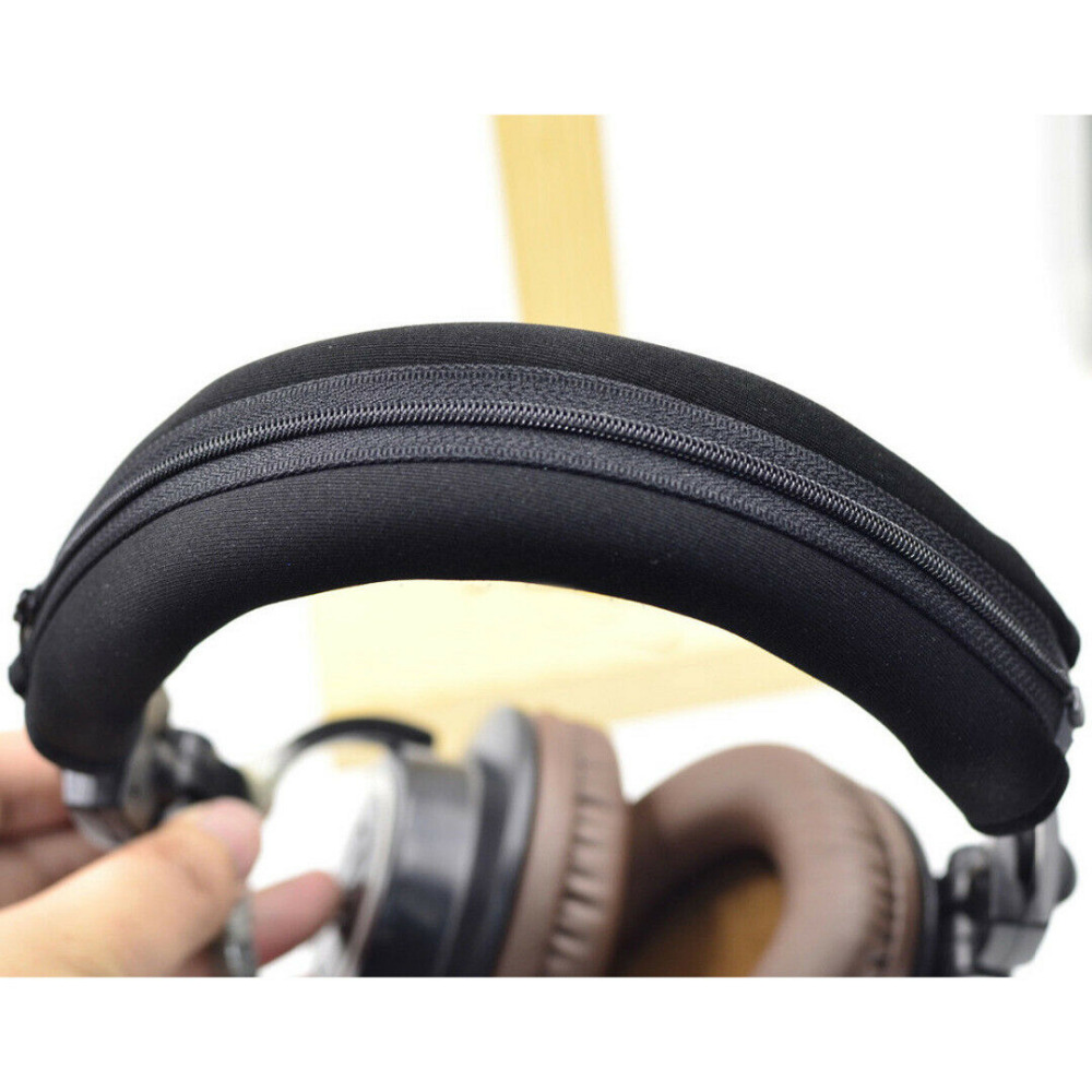 Headphone Protector Zipper Headband For Audio Technica ATH MSR7 M20 M30 M40 M40X M50X SX1 headphones 2