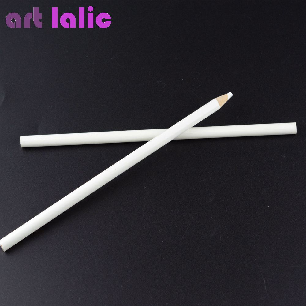 2 Pcs Professional Wax Dotting Pen Nail Art Rhinestones Gems Picking Crystal Tools Pencil Pen Easily Pick Up Pen Manicure