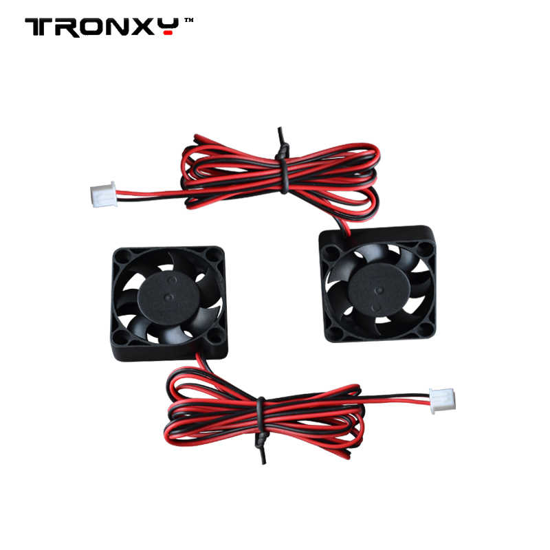 Tronxy 1PC 4010 Fan 3D Printer Extruder Pendingin 40*40*10 Mm 12V 0.09A Exhaust Brushless DC Penggemar untuk Heatsink Cooler Pendingin