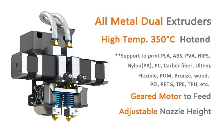D600 extruder new