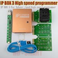 CAIXA de caixa de IP 2 IP 3 programador de alta velocidade para o telefone pad disco rígido programmers4s 5 5c 5S 6 6 mais ferramentas de atualização de memória 16g to128gb