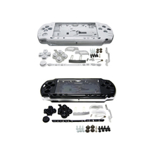 лучшая цена Black Full Housing Shell Faceplate Case Parts Replacement for Sony PSP 2000 Console