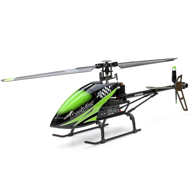 FX067C 2.4G 4CH 6 Axis Gyro Flybarless RC Helicóptero