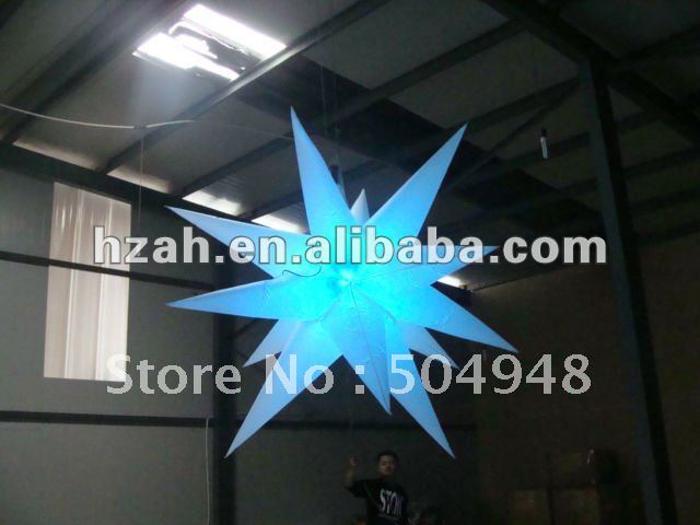 цены 2016 Inflatable Star Decoration With Led Light