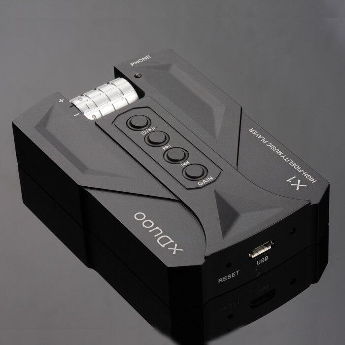 XDUOO X1 8 GB WAV APE FLAC Mini poche 300ohm haute puissance HiFi musique Audio lecteur MP3