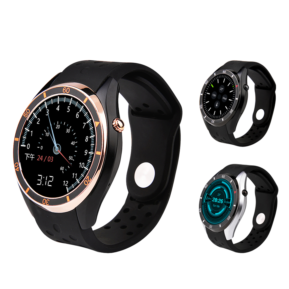 I3 Smart Watch MTK6580 Android 5.1 OS Silicone Wristband SIM Card Support 3G wifi GPS Browser Google play Heart Rate Monitoring 696 bluetooth android smart watch gt08 plus support camera nano 3g sim card wifi gps google map google play store wristwatch