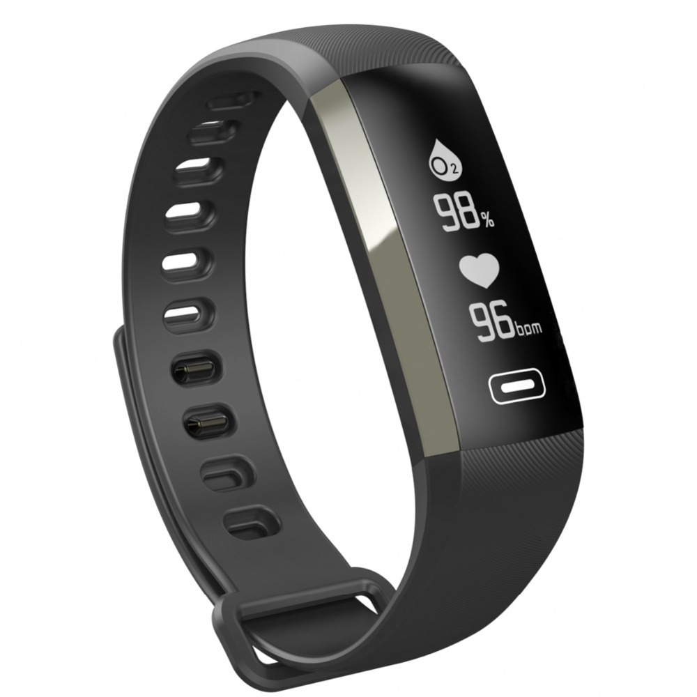 New M2P Smart Fitness Bracelet Push Message 0 96 Inch Oled Wristband Blood Pressure Heart