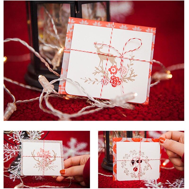 multi use mini 16set christmas card elk illumination