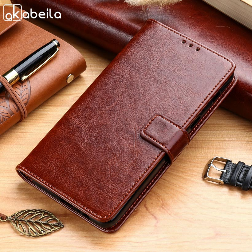 AKABEILA Cases For Samsung Galaxy A7 2018 Duos A8+ A8 PLUS 2018 Duos with dual-SIM card slots A730F Leather Wallet Phone Cover