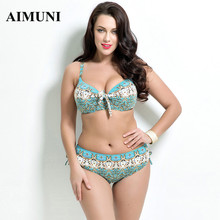 2017 women plus size swimwear Bathing Suit Push up font b Bikini b font set Brazilian