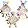 Детские нагрудники babador хлопок мальчик в девочке bavoir младенческой bavoir ткань cachecol infantil новорожденных мультфильм обезьяна медведь baberos игрушки сна