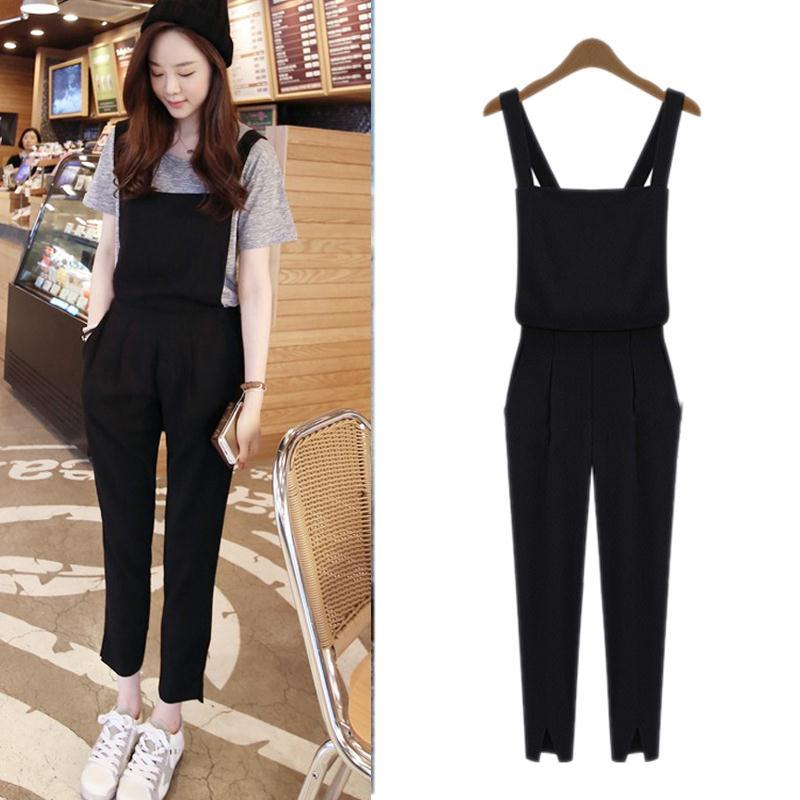 Online Shop Fashion Womens Casual Jumpsuit Romper Overall Pants ...