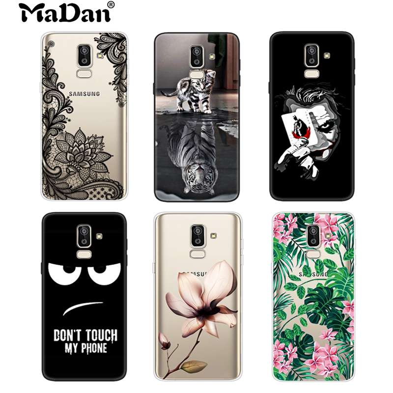 separation shoes 63407 63836 US $1.35 15% OFF|Cool Cover For Samsung Galaxy J8 2018 Case 6.0
