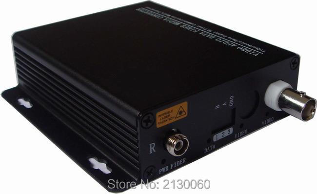 HD Video CVI Fiber Optical Converter, 1ch 720P Video Fiber Optic Transmitter, Single-mode Single Fiber 20KM