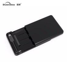 2.5 дюймов USB 3.1 Тип c SATA внешний жесткий диск Корпус интегрированы Футляр драйвер для 7 мм -9.5 мм HDD SSD MR231LC