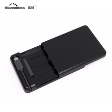 2.5 inch USB three.1 Sort C to SATA Exterior Arduous Disk Drive Enclosure Built-in onerous driver Case for 7mm-9.5mm HDD SSD MR231LC