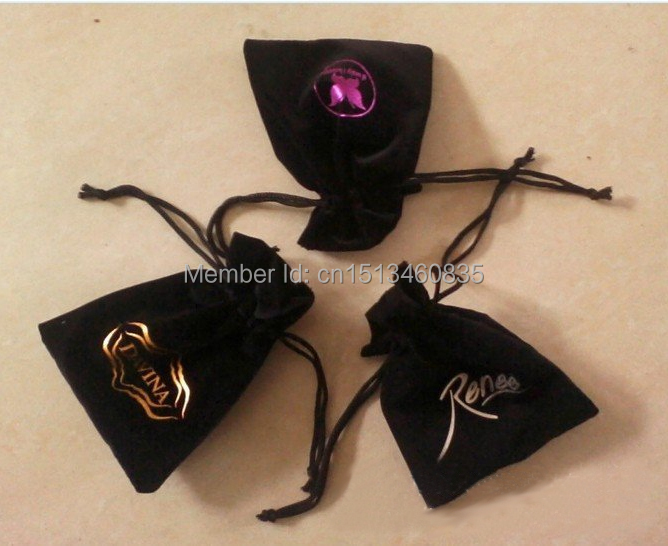 100pcslot CBRL velvet drawstring jewerly bagpouch for toiletryIphone 6,Size can be customized,Various colors,wholesale