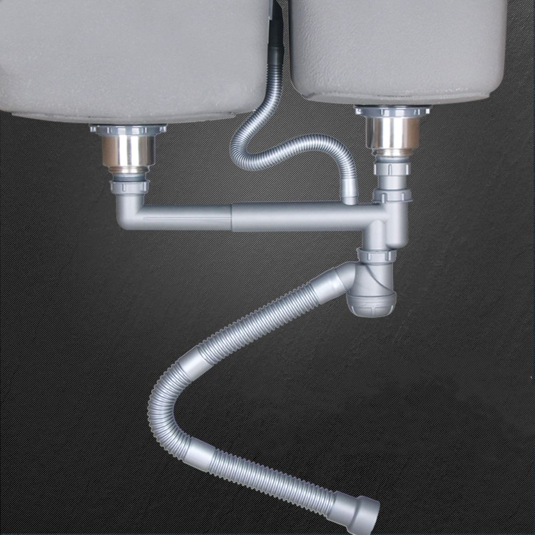 Kitchen Sink Drain Stopper  Sewer pipe downcomer Kitchen sink accessories