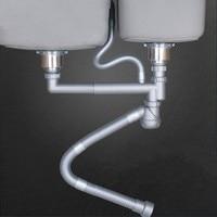 Kitchen Sink Drain Stopper Sewer pipe downcomer Kitchen sink accessories