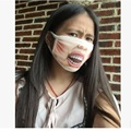 1pcs Funny Anti Dust winter mouth mask Cotton Mouth Masks Trick or Treat Mouth Muffle Face Mask Emotiction Masque Kpop masks