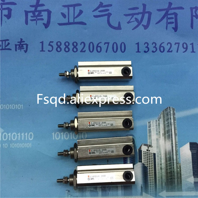 CJPD10-20D SMC Needle type cylinder Double-acting air cylinder pneumatic component air tools cxsm25 10 cxsm25 15 cxsm25 20 cxsm25 25 smc dual rod cylinder basic type pneumatic component air tools cxsm series have stock