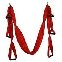 16 Color Strength Decompression Yoga Hammock Inversion Trapeze Anti Gravity Aerial Traction Yoga Gym Strap Yoga