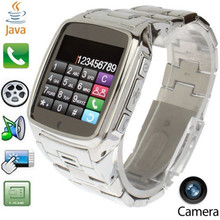 Smartwatch Phone JAVA TW810 Stainless Steel Smart Bluetooth Watch Mobie Wristwatch with HD DV Recording FM