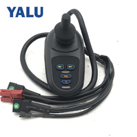 China Factory Sale 24V Electric Wheelchair DC Motor Handle Joystick Wheel Chair Drive Intelligent Universal Controller