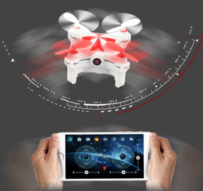 Cool mini Cheerson CX-OF Drone rc toys Remote Control aircraft Quadcopter quad cheerson cx 95w 4axis rc drone remote control wifi dh camera quadcopter helicopter aircraft air plane children gift toys