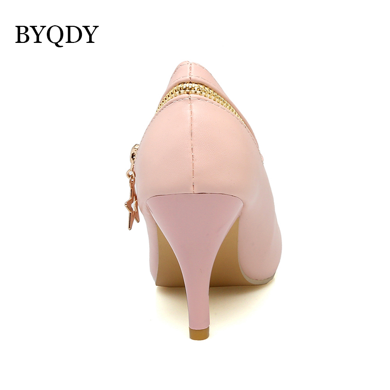 BYQDY High Heels Women Pumps Stiletto Woman Party Wedding Shoes Kitten Heels Plus Size Russian Shoes Comfortable Size 34 48 in Women 39 s Pumps from Shoes