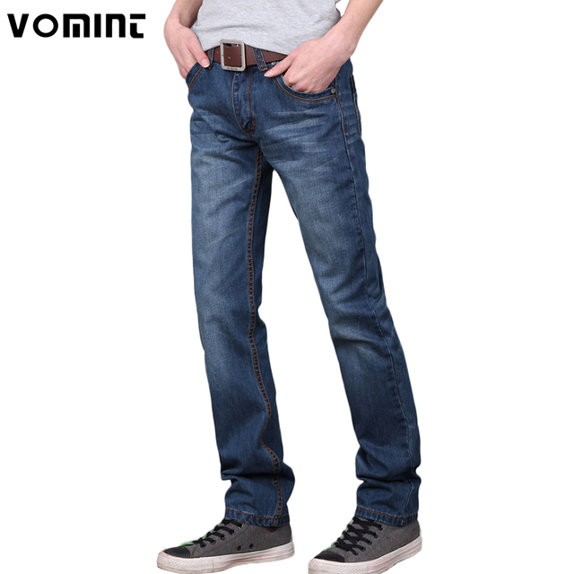 5035f791f1 Vomint 2018 Brand men jeans pants Dark Wash Jeans Casual ripped jeans for  men Effect Stonewashed High Quality Jeans Denim male