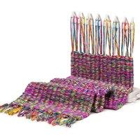 Thời trang Trẻ Em DIY Khăn Đan Máy Dệt Kim Loom TỰ LÀM Học Sinh Trai Gái Giáo Dục Đan Len Sợi Dệt Đồ Chơi