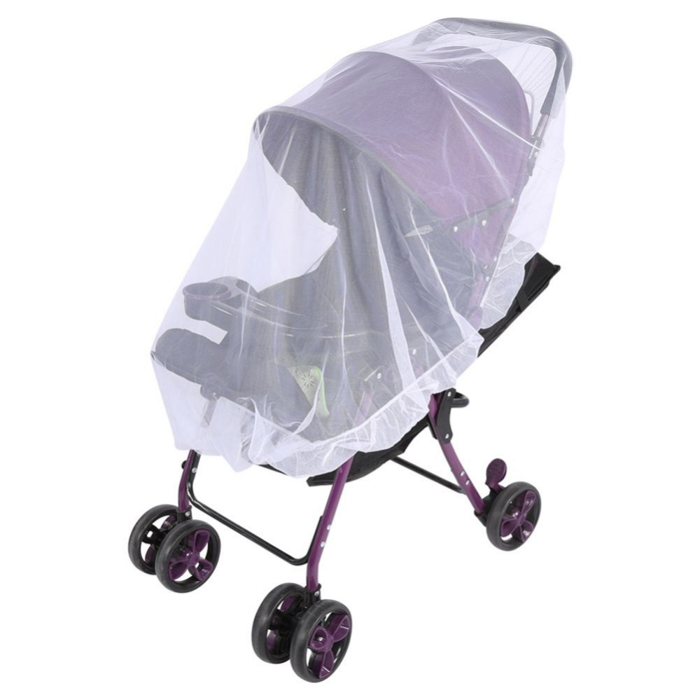 Baby Carriage Cart Mosquito Net for Pram Toddler Infant Stroller Crip Netting Pushchair Insect Net Safe Mesh BuggyBaby Carriage Cart Mosquito Net for Pram Toddler Infant Stroller Crip Netting Pushchair Insect Net Safe Mesh Buggy